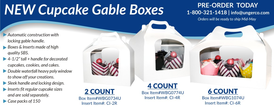 cupcale gable boxes